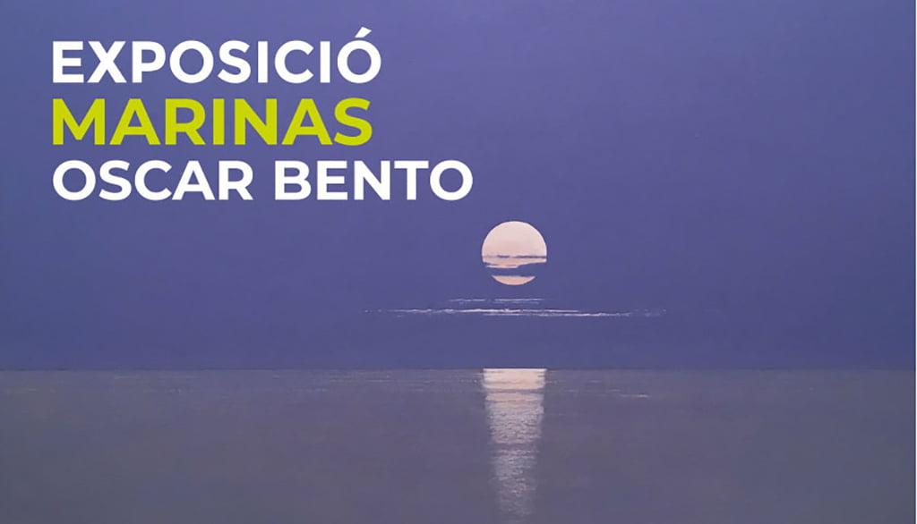 Обложка выставки Морские пехотинцы Оскара Бенто