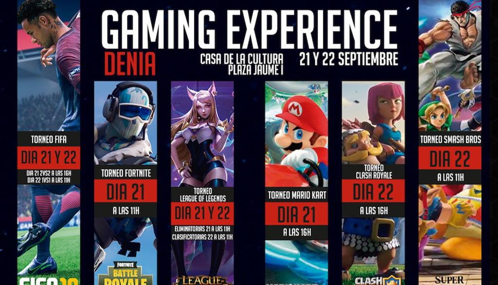 Portada Gaming Experience Dénia