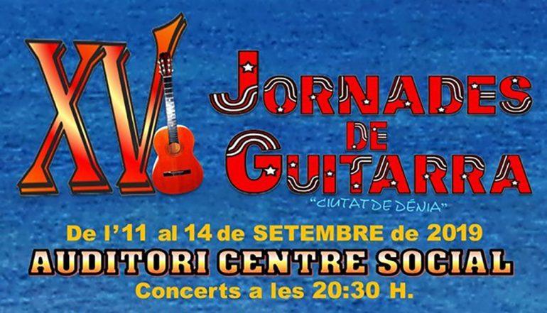Cover XV Jornades de Guitarra
