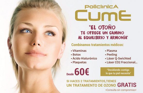 Image: Promotion of treatments from 60 € - CUME Polyclinic