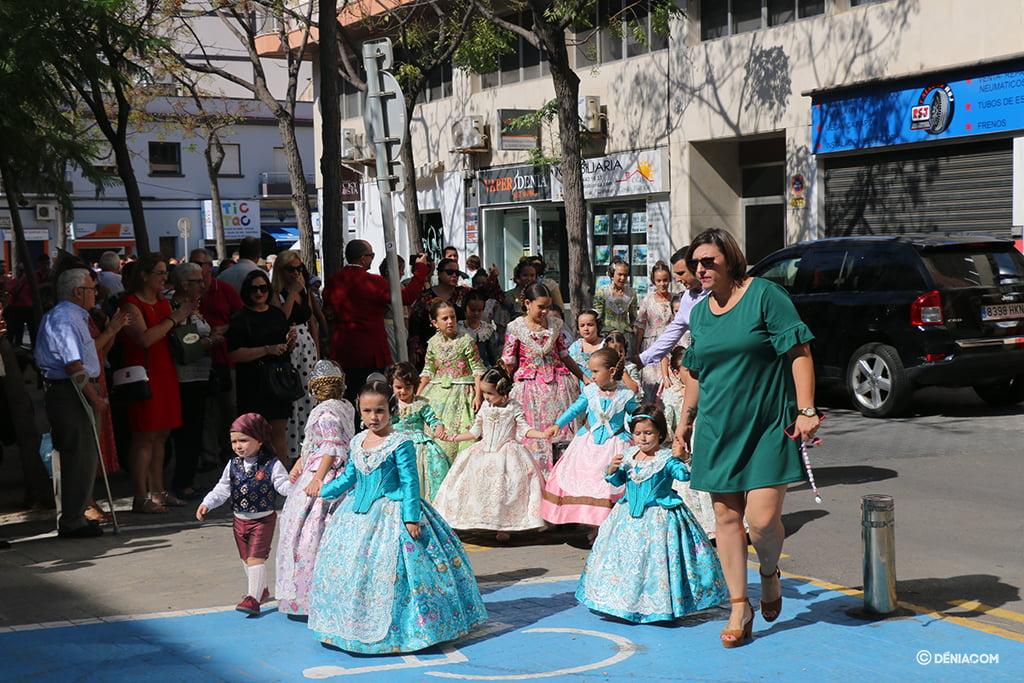 Recepció de la presentació infantil de la Falla Baix la Mar