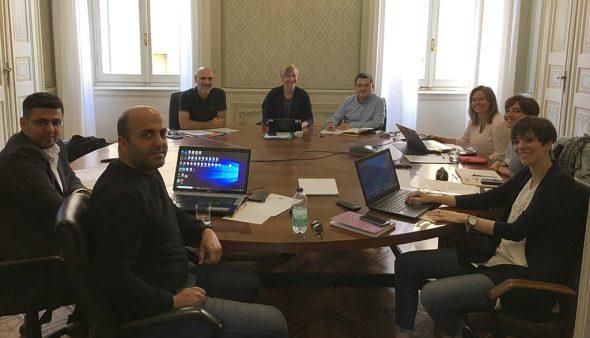 Imagen: Reunión en Parma del proyecto ERASMUS+