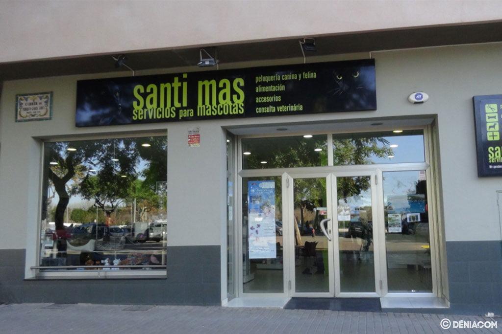 Facade of Santi Mas - Pet Services