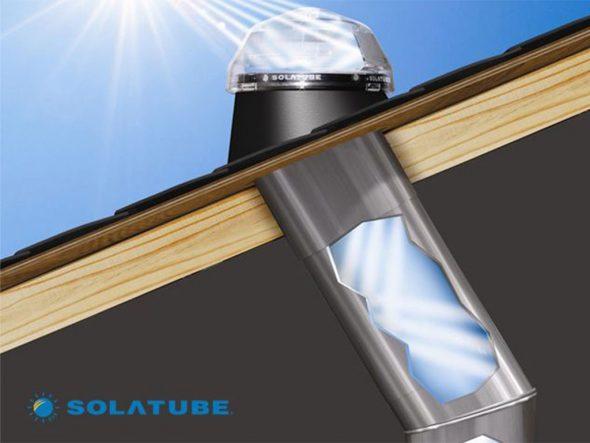 Image: Skylight or skylight - Solatube Levante