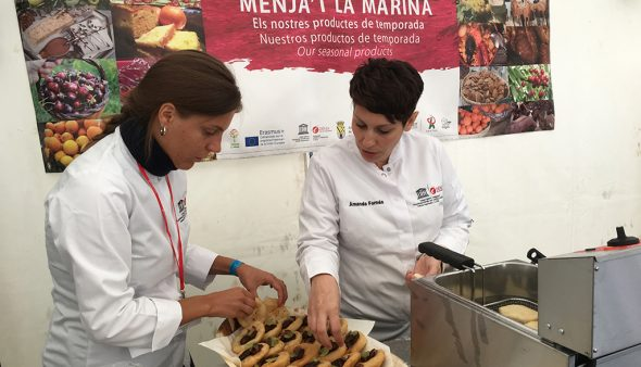 Image: Dénia stand at Matfestival, the most important gastronomic fair in Norway