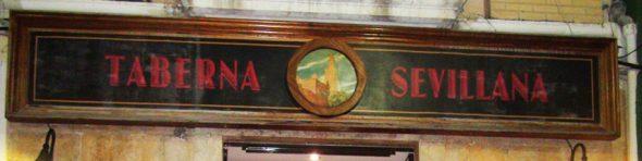 Imagen: Logotipo de Taberna Sevillana