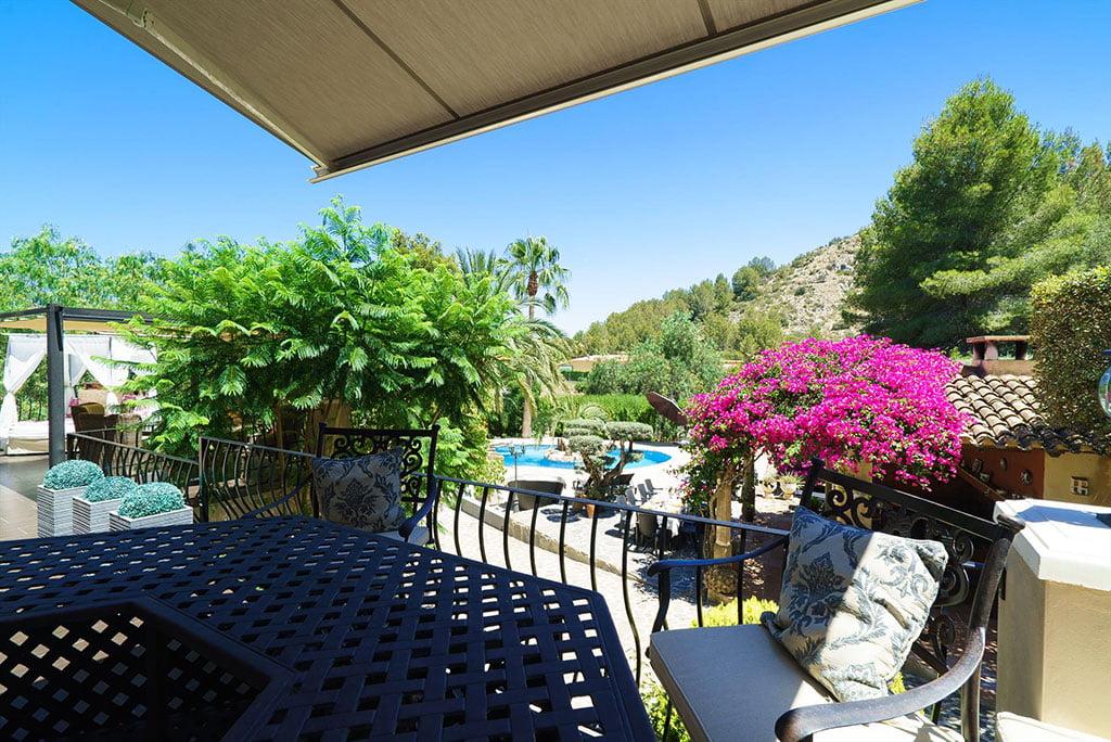 Terrasse dans une villa exclusive très proche de Dénia - Aguila Rent a Villa