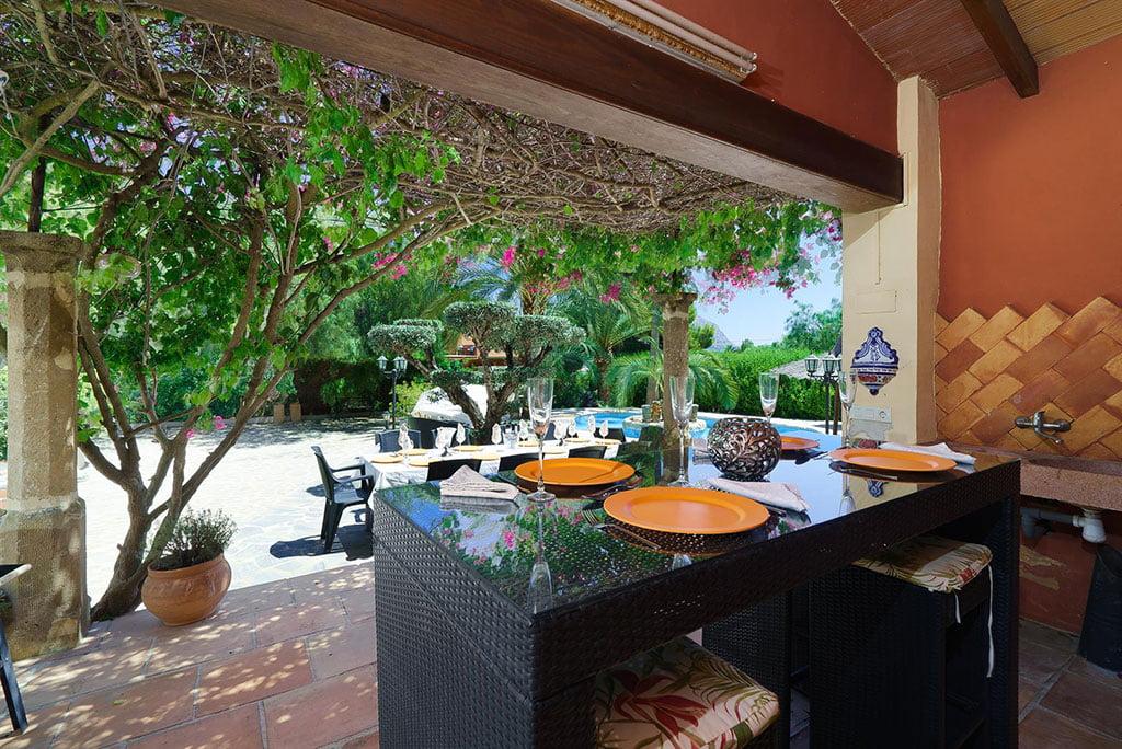 Maison avec trois terrasses couvertes - Aguila Rent a Villa