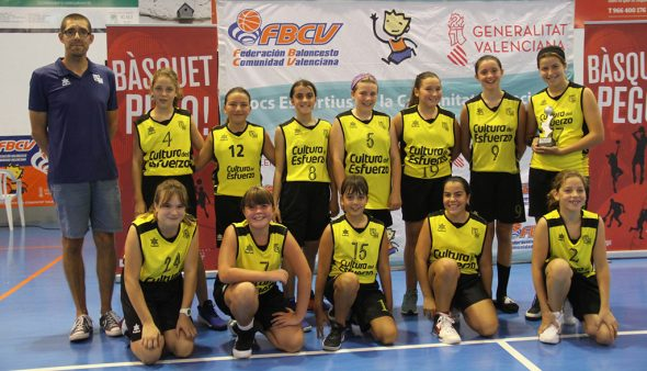Image: Female fry 08, runner-up of the Valencian Lliga