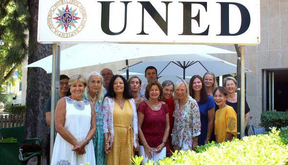 Image: Les étudiants des ateliers d'espagnol intensifs de UNED Dénia