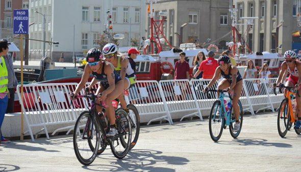 Image: Andrea à bicyclette