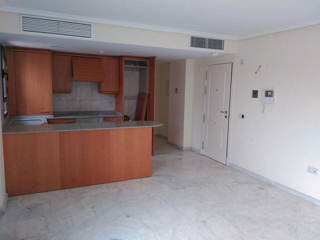 Salón de un ático en venta en Moraira – Mare Nostrum Inmobiliaria