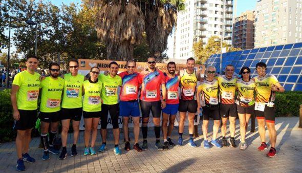 Imatge: Atletes de diversos equips de Dénia