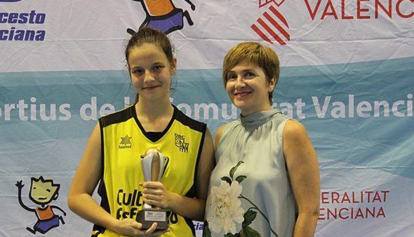 Image: Carmen Christmas, MVP of the final