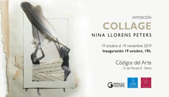 Imatge: Cartell exposició Nina Llorens