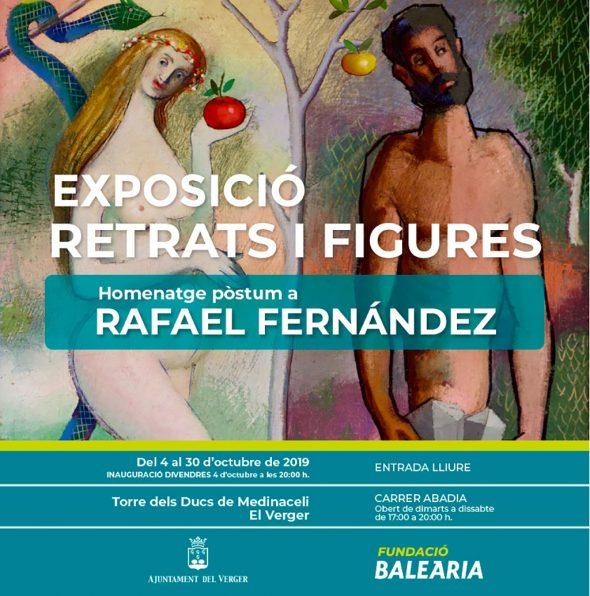 Фото: афиша выставки Рафаэля Фернандеса