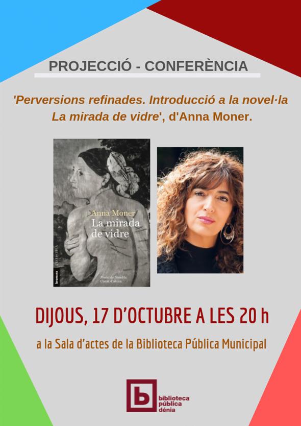 Imagen: Cartel presentación La mirada de vidre