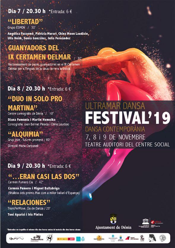 Imagen: Cartel Ultramar Dansa