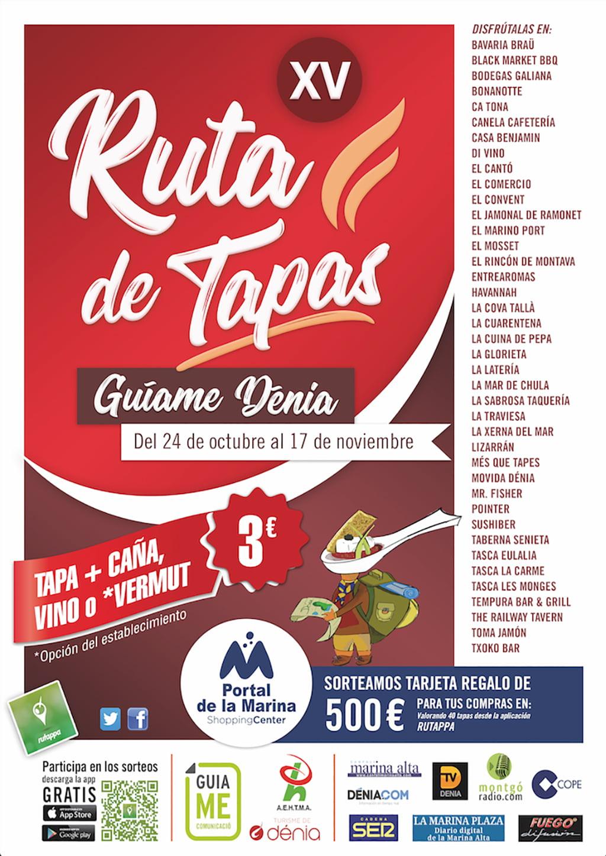 Poster XV Dénia Tapa Route