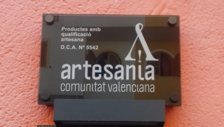 Distintivo de comercio artesano, cocas artesanas en Dénia - La Coquería