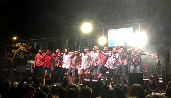 Изображение: концерт La Fumiga в Marqués de Campo