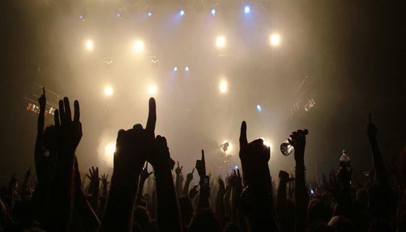 Imagen: Concierto de rock