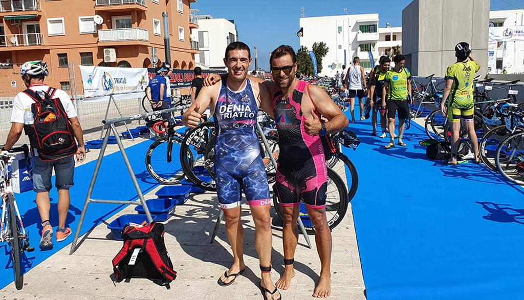 David Ribes en el Triatlón de Formentera