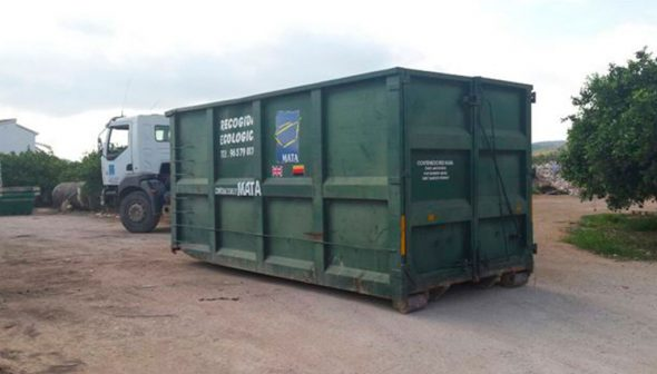 Image: Wide variety of containers to choose from - Mata containers