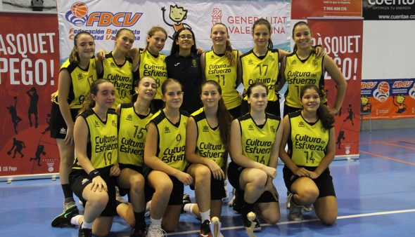 Image: The female cadet 04 wins in the final of the Valencian Lliga