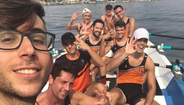 Imatge: Equip de rem del Reial Club Nàutic Dénia a Cartagena