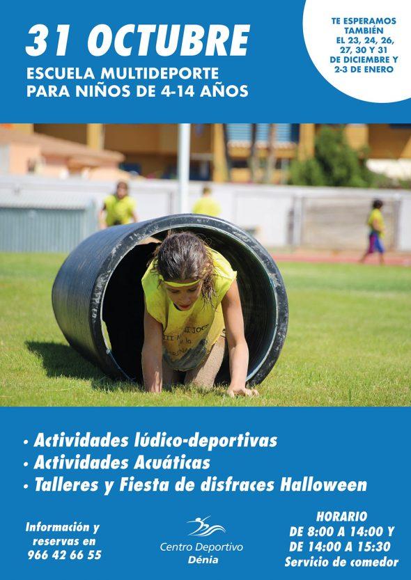 Imatge: Escola Multiesport del Centre Esportiu Dénia