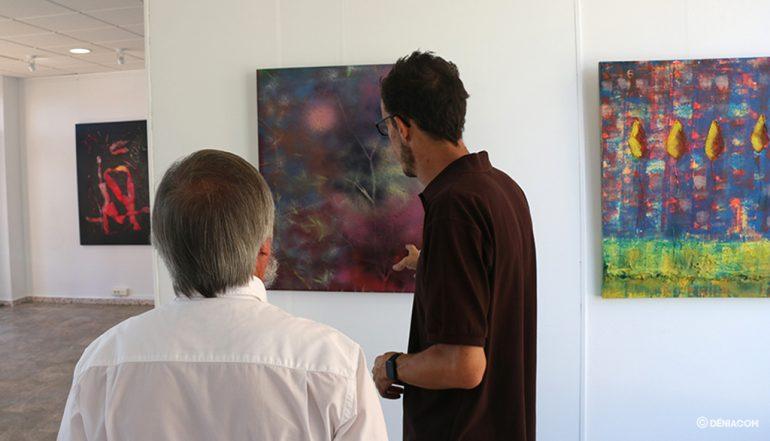 Exposición de Juan Caravaca en Marina de Dénia 11
