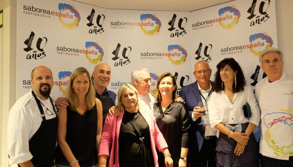 Image: Party for the 10th anniversary of Sabora Spain