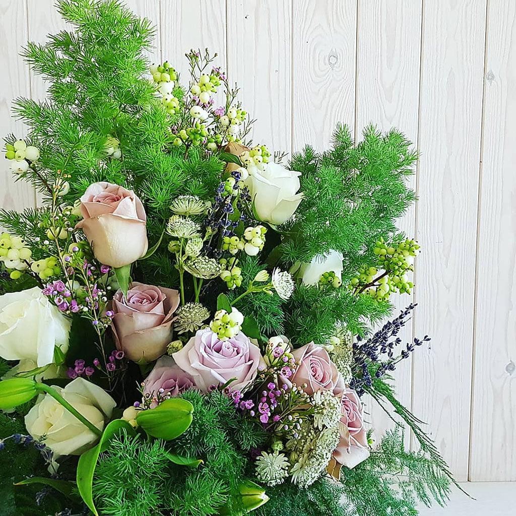 Цветы с зелеными - Свадьбы и Цветы