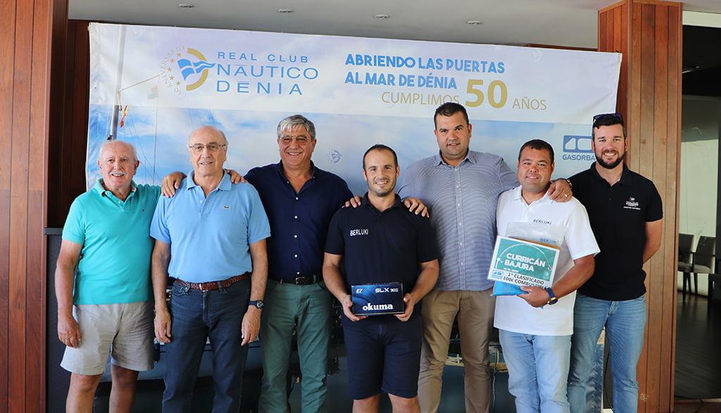 Ganador Currican Bajura del Real Club Nautico Denia