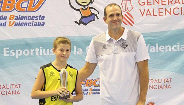 Image: Guillermo Moreno, MVP of the final