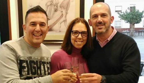 Imatge: Jordi, Noemí i Jovi