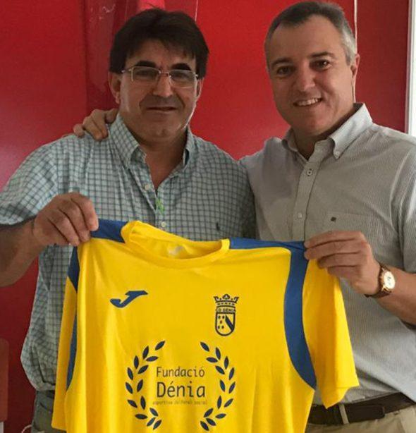 Imagen: Juan Benavente junto a Toni Sentí