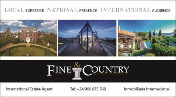 Imagen: Logotipo Fine & Country Costa Blanca Norte
