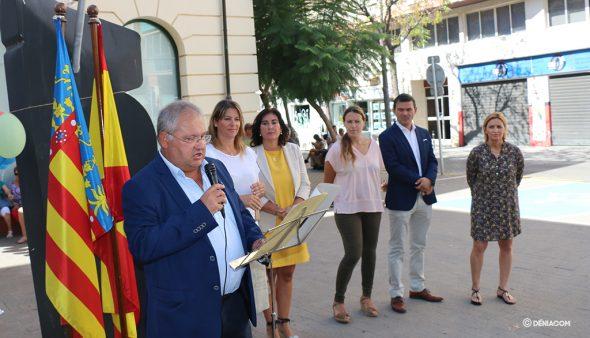 Imagen: Mario Vidal, portavoz de Gent de Dénia