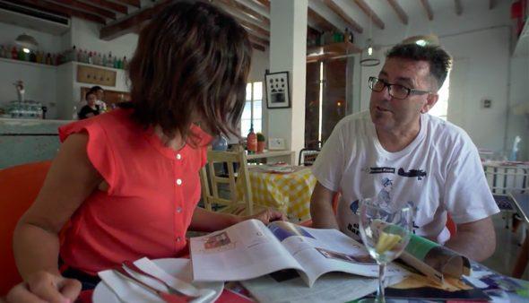 Imatge: Miquel Ruiz durant una entrevista a Cuatro
