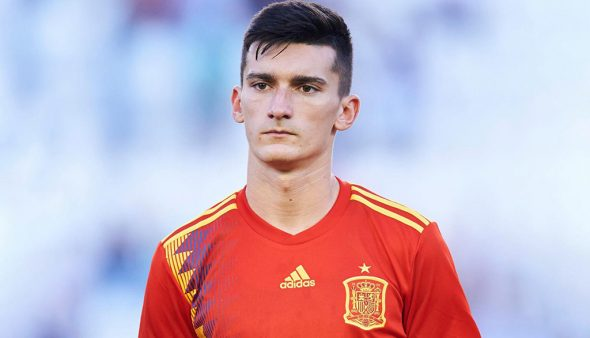 Image: Pepelu with the Spain shirt
