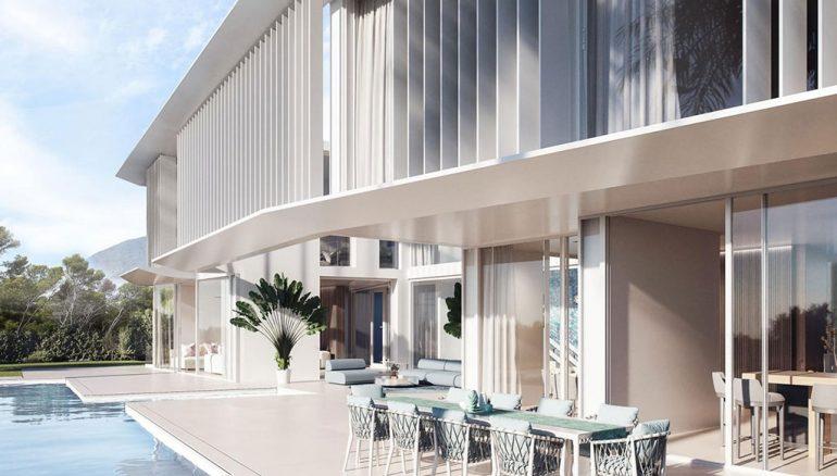 Private pool in a luxury villa in Las Rotas - Fine & Country Costa Blanca North