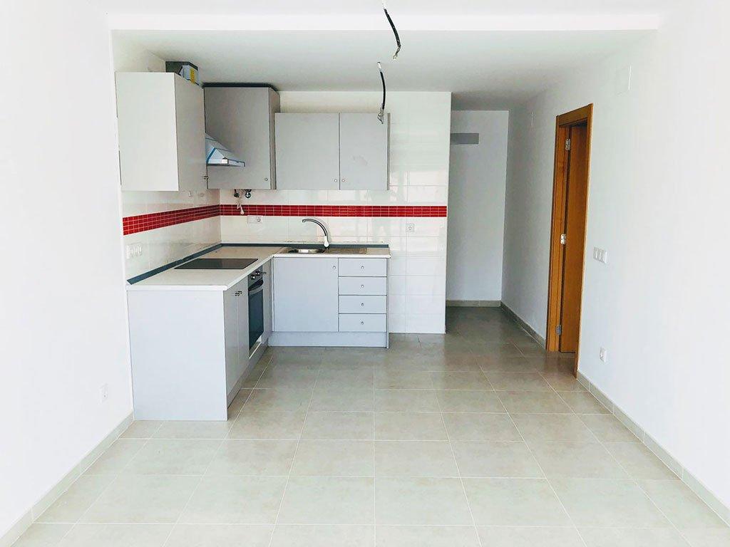 Cocina de un piso de un dormitorio –  Mare Nostrum Inmobiliaria