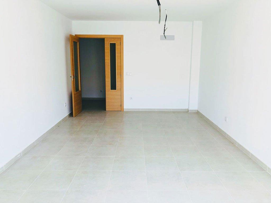 Salón comedor de un piso de dos habitaciones en Moraira –  Mare Nostrum Inmobiliaria