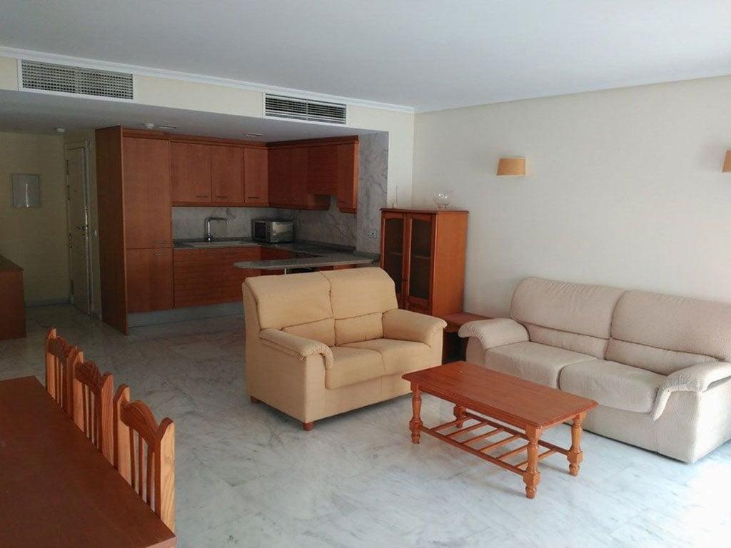Piso de dos habitaciones a la venta en Moraira – Mare Nostrum Inmobiliaria