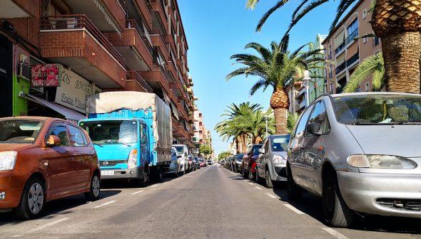 Imatge: Reasfaltat del Passeig del Saladar entre el carrer Pedreguer i la plaça Jaume I - Pressupostos Participatius