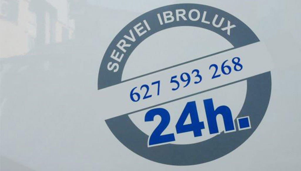 Servei 24 hores de Ibrolux