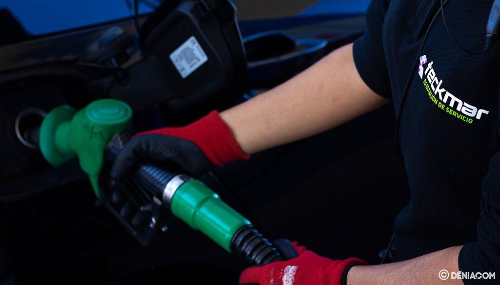 Servicio eficaz y personalizado en Gasolineras Teckmar