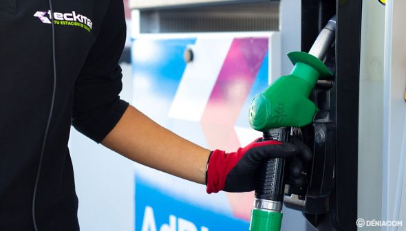 Imatge: Servei en Gasolineres Teckmar a Dénia